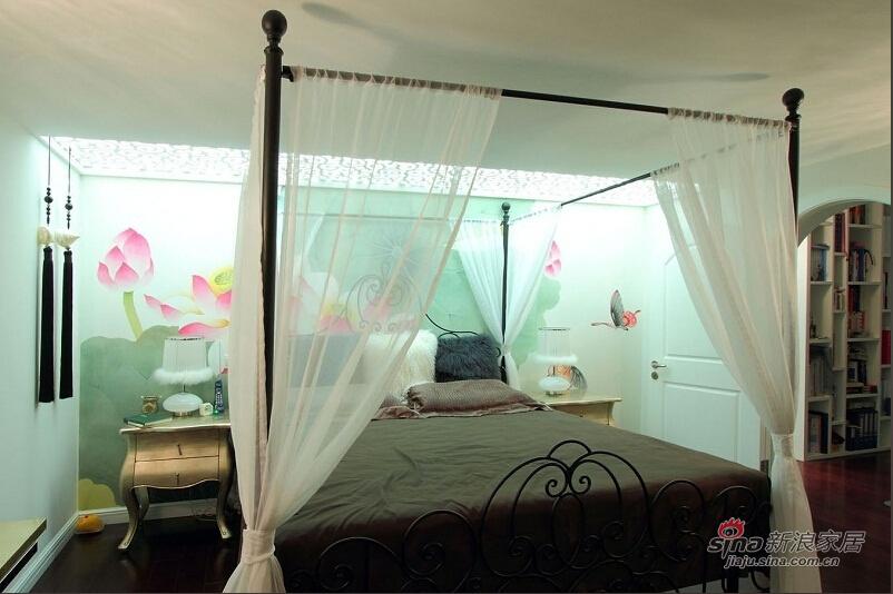 梦幻清爽卧室