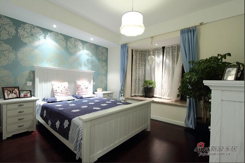 浪漫蓝色卧室