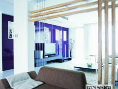 90平米2居室现代色诱