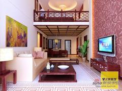 中式古典风格loft设计
