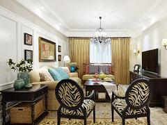 【高清】160平美式温馨美尚4居室
