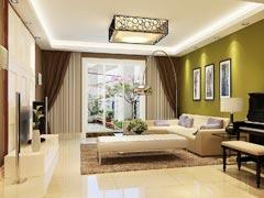 花语城130平三居室现代风格