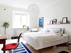 洁癖狂90平北欧小清新整洁公寓