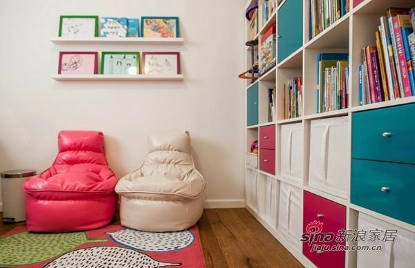 充满童贞的彩色书房
