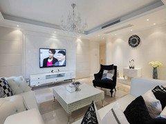 白色170平神奇新古典主义晒四居室