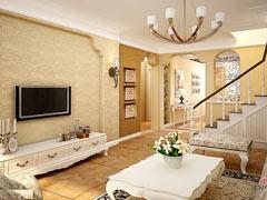 160平地中海风格复式四居室