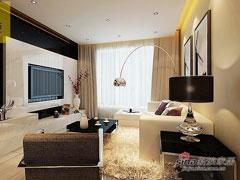 远洋万和城 两室两厅 现代风格设计欣赏