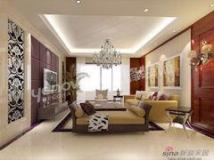 平层140平三居两厅新古典风格