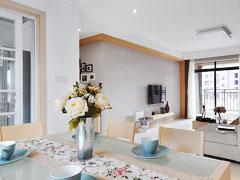 【高清】120平公寓打造简洁舒适的新颖现代风