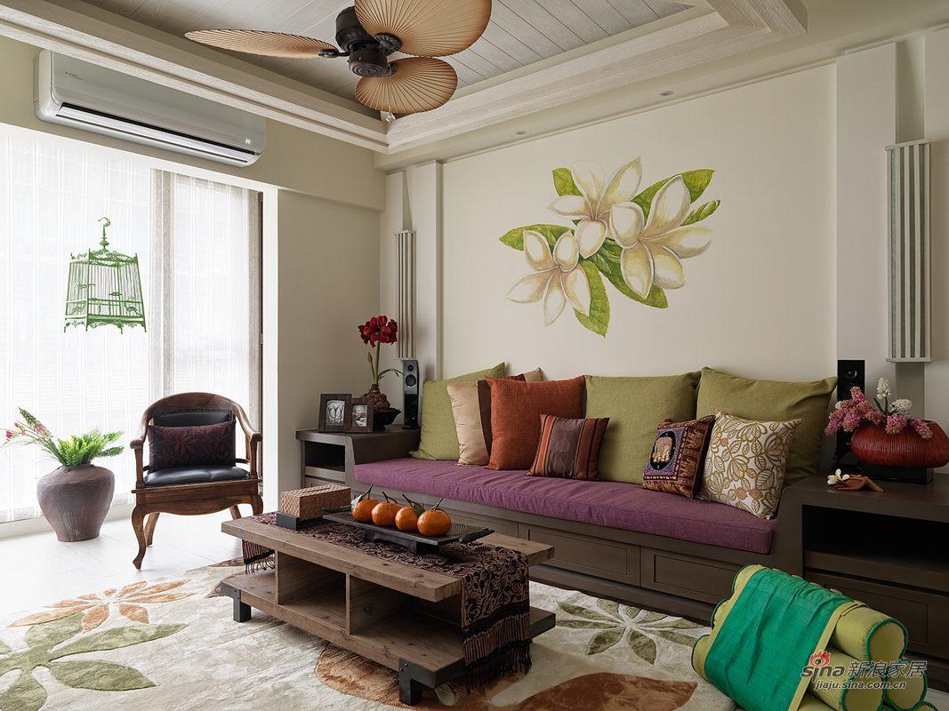 沙发颜色好漂亮,墙上的画简直是不可方物