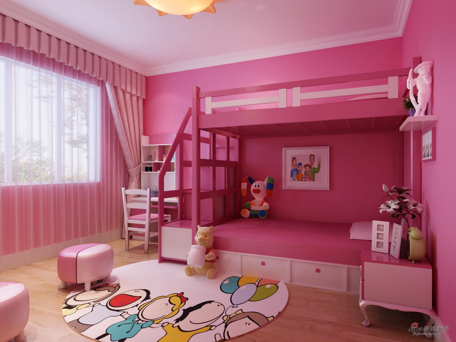 简约风格儿童房装修设计效果图