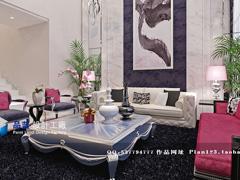 《奢侈新贵》300平米现代欧式设计