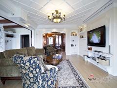 【高清】136平美式乡村风情温馨3居室