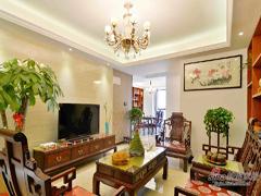 【高清】156平传统中式儒雅3居室