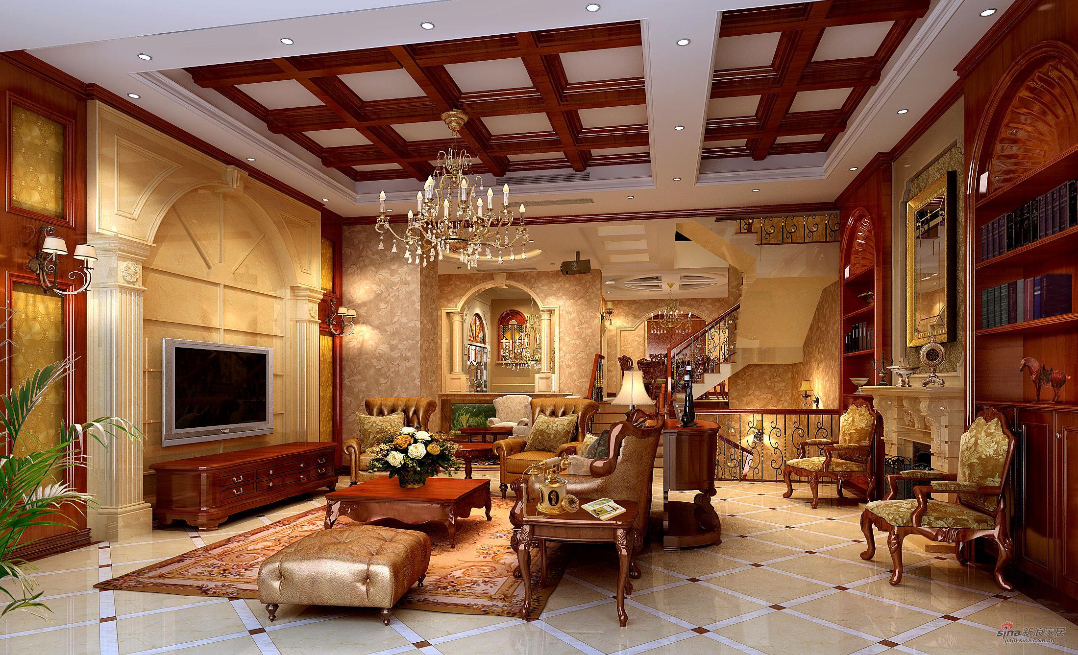 欧式风格500平米大别墅图片