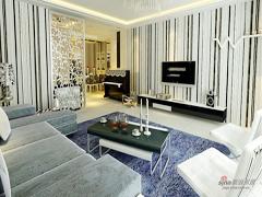 【多图】14万打造136平现代风格三居室