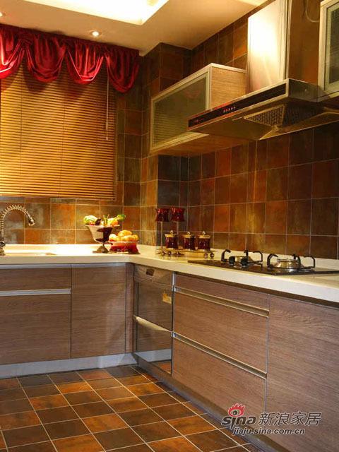 厨房有种高大上的异样风情