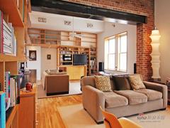【多图】LOFT悠闲乡村红砖公寓