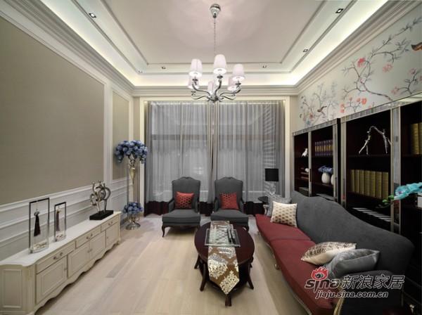 枣红深灰低奢沙发