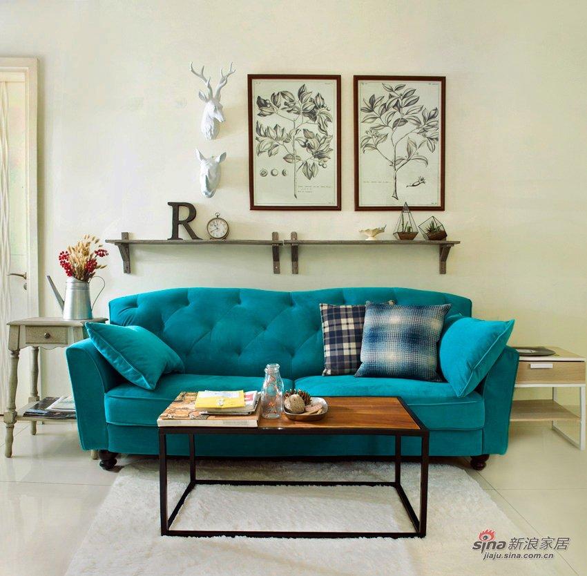 超美的绒布沙发