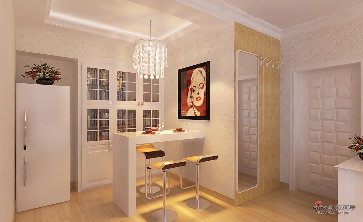 小吧台餐厅,节省空间又时尚新颖