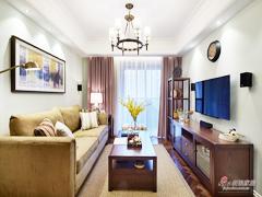 【高清】118平美式时尚雅致3居室
