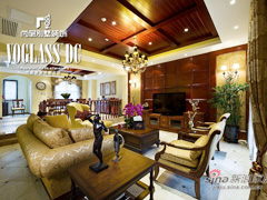 【多图】龙湖滟澜山379平米别墅古典主义展现低调奢华