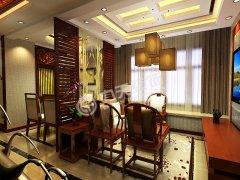 金融街中心-两室一厅一厨一卫-新中式风格