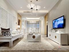 【高清】8万营造121平纯白中式三居室