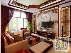 独栋别墅300平中式风格装修设计