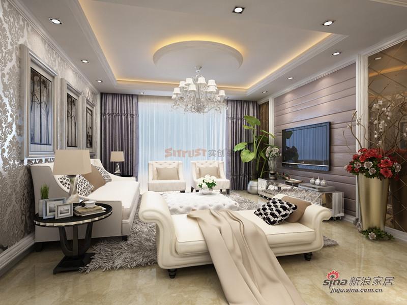 新里程潇湘名城139平|新古典装修设计