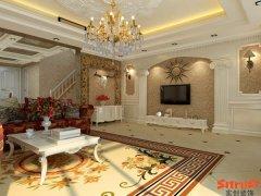 花20万装320平米的新低调奢华欧式设计