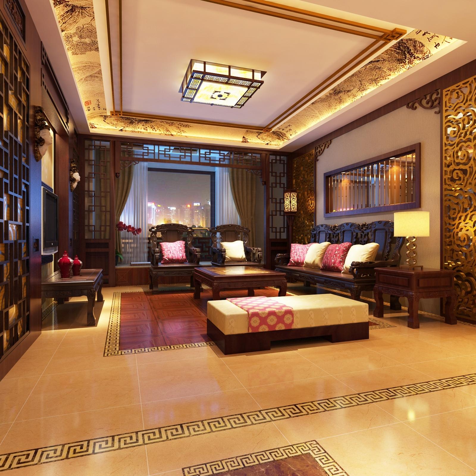 中式古典风格美家图片