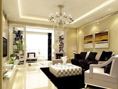 《璀璨珠光》--简约欧式四房两厅151平米