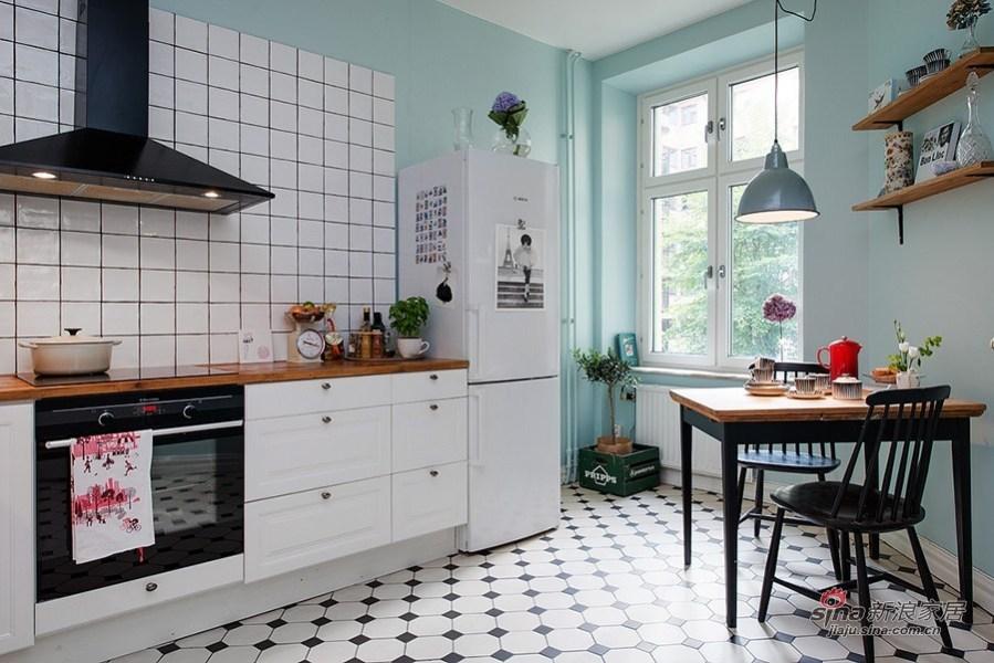 厨房的地砖好看