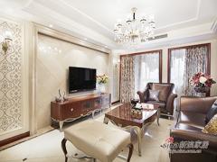 【高清】160平高贵典雅美式3居室