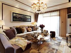 后现代奢华二居室