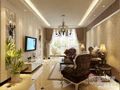 76�O清新之脱俗魅力的两居室仅要5.4万打造