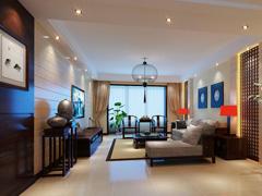 上海实创装饰之中式古典的绿地香颂公寓