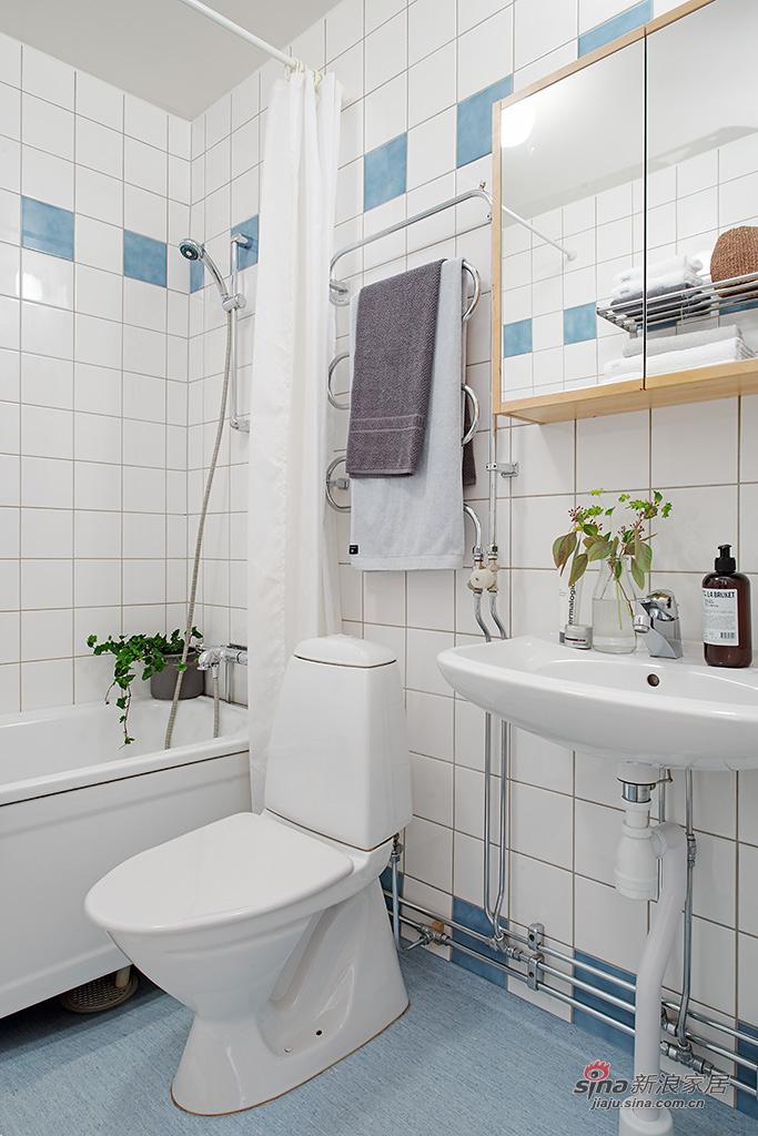卫生间很简洁