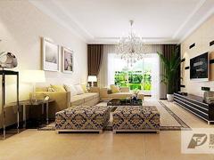恒大绿洲130平米现代简约风格设计欣赏!