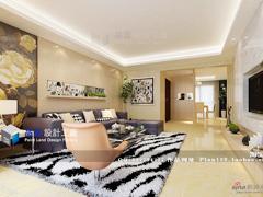 《锦绣华城》--现代简约五房两厅149平米