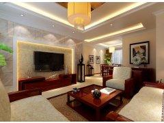 卧龙丽景湾/三居室/装修设计-137平演绎别具特色中式新家