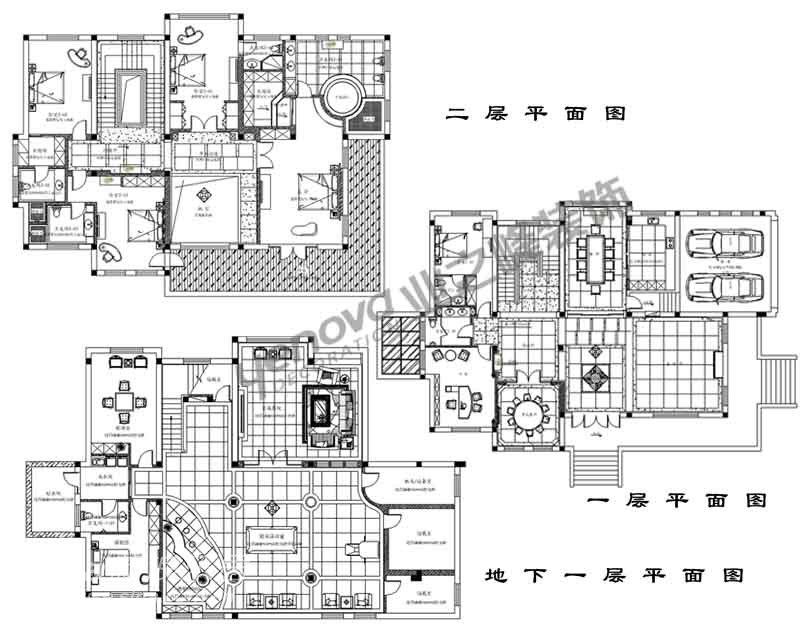 高品味家庭豪华别墅_136幢泉池的有温别墅广东里图片