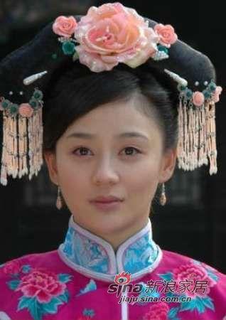 《宫锁珠帘》中袁姗姗饰演女一号怜儿图片