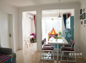 远洋新悦56平北欧风格三口之家