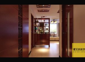 中式古典-四居室文景小区
