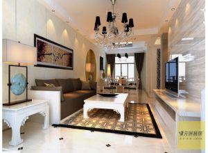 富力城140平米新中式风格