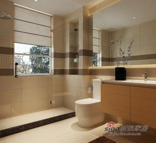济南实创装饰 翡翠清河116平米现代简约两居装修效果图高清图片