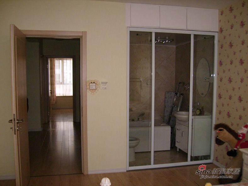 效果,在这里用了玻璃隔断,和我家的淋浴房是一个牌子,丽莎,质量高清图片